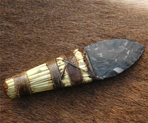 Beaker dagger, made for new Museum at Cheddar Gorge