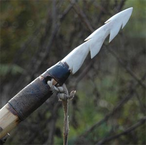 Harpoon, made for new Museum at Cheddar Gorge