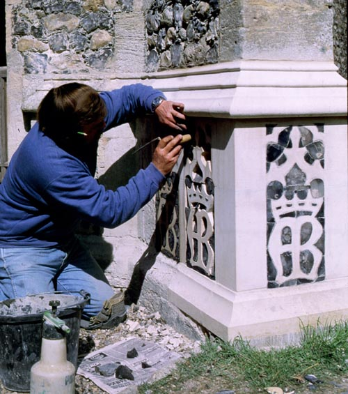 Restoration at Gt Witchingham, Norfolk.