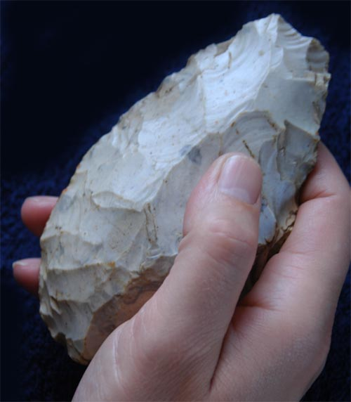 Lynford's very first handaxe